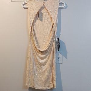 NWT BEBE SPARKLE DRESS